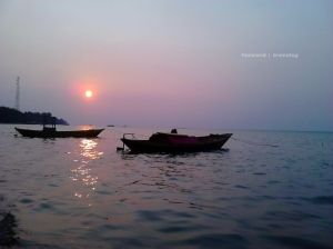 Sunset Pulau Tidung | Photo: fazword