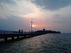 Sunrise Pulau Tidung | Photo: fazword