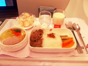 Batik Air C Class Inflight Meals | Photo: Fazword