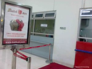 Batik Air C Class Bagage Waiting | Photo: Fazword