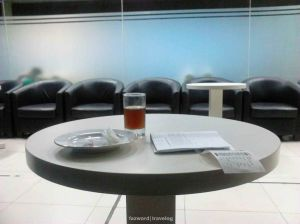 Sky One Lounge Lombok International Airport | Photo: Fazword