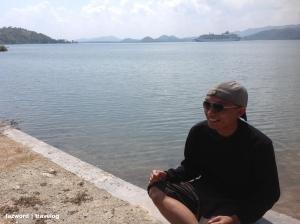 Narsis dalam Perjalanan ke Pelabuhan Tawun   photo: fazword