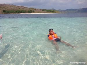 Snorkeling @ Gili Nanggu   photo: fazword