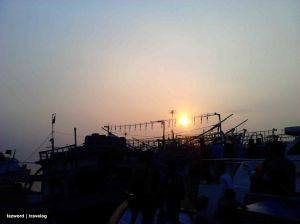 Sunset at Muara Angke | Photo: fazword