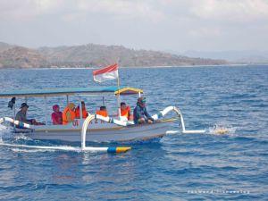 Kapal ke Gili Nanggu   photo: fazword