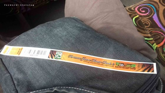 Gelang Tiket Jatim Park 2 | photo: fazword
