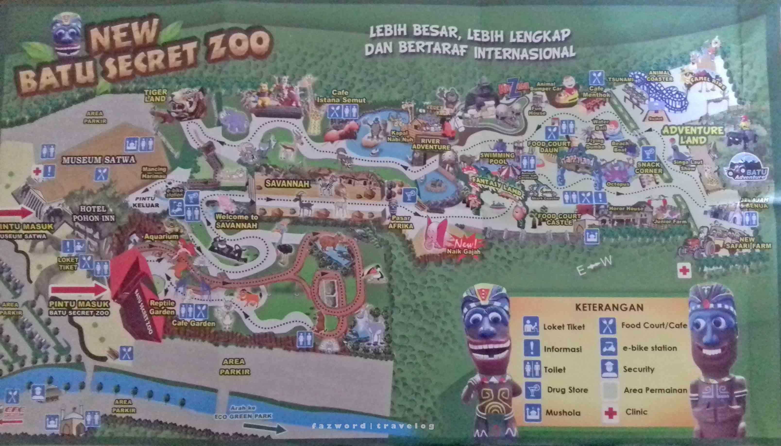 Mlaku Mlaku Nang Malang Jatim Park 2 Fazword S Travelog