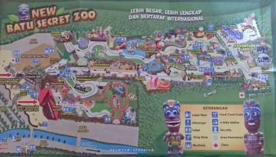 Map Jatim Park 2| photo: fazword