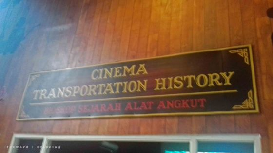 Cinema Transportation History Museum Angkut | photo: fazword