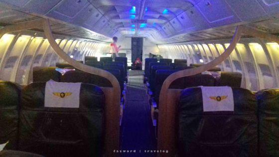 Kabin Boeing 737-200 Museum Angkut | photo: fazword